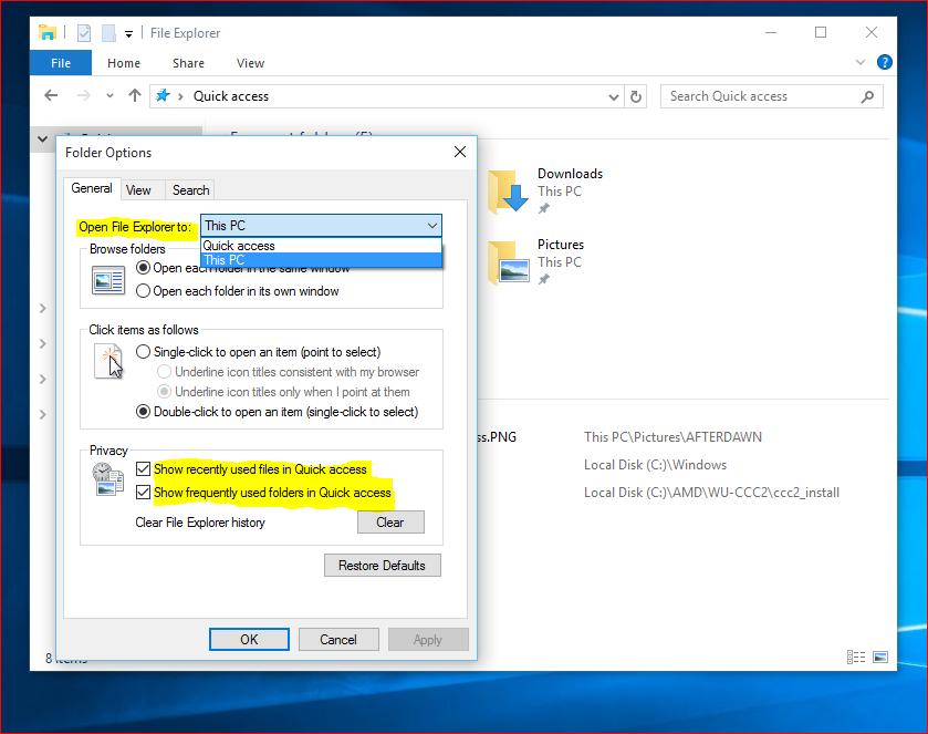 Resurssienhallinta Windows 10